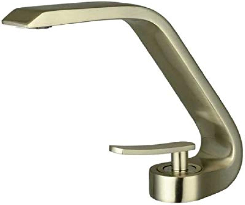 Lddpl Wasserhahn Neue Luxus Moderne Crescent Designs T Einhand Messing Spültischarmaturen Waschtischmischer
