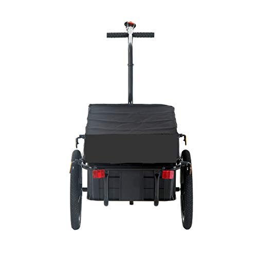 Fantastic Deal! X-Treat Carrier Bike Trailer Cargo w/Steel Carrier Utility Luggage Storage cart Whee...
