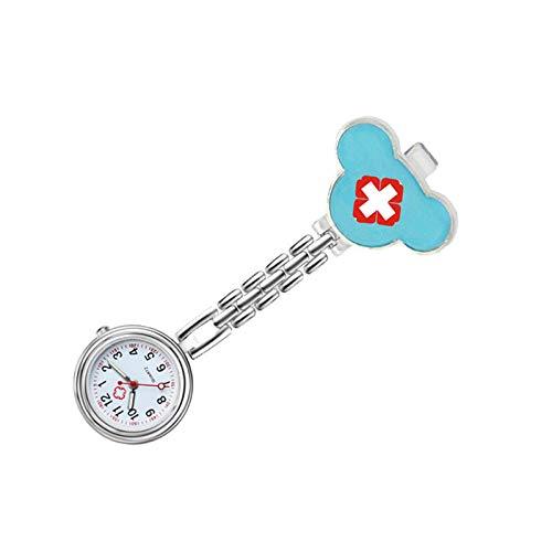 LLRR Paramédico Doctores Reloj Médico,Nueva Mesa Colgante de Amor de Moda para Hombres y Mujeres, Cofre médico watch-33,Reloj de Enfermera