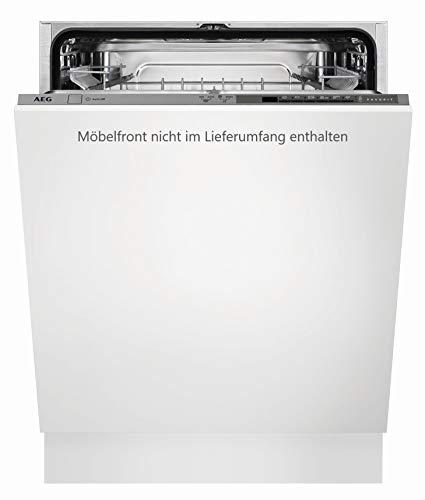 AEG FSB41600Z Vollintegrierter-Geschirrspüler / 60cm / AirDry - perfekte Trocknungsergebnisse / energiesparend / Besteckkorb / Beladungserkennung / Intensivprogramm / Kurzprogramm / Startzeitvorwahl