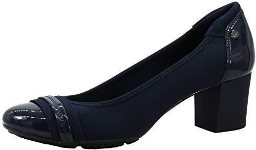 Anne Klein Sport Women's Guardian Leather Dress Pump Shoes Navy 6 M US