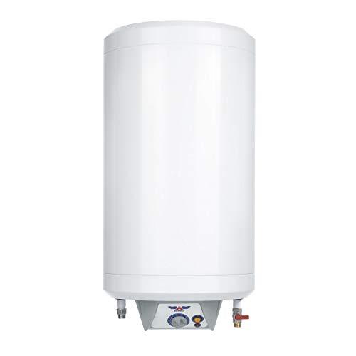 Termo Eléctrico 50 Litros Aparici SIE 050 | Calentador Agua Eléctrico | Doble Resistencia 2x100W | Modelo Delgado 38cm Diametro