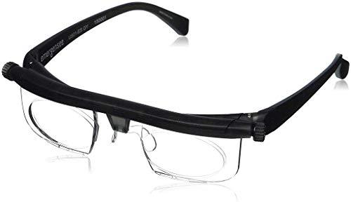 Baiye Einstellbarer Fokus Lesebrillen Lupenbrillen -6Dto + 3D Dioptrien Variable Objektivkorrekturbrillen Computer Lesen Driving Brillen-Männer & Frauen