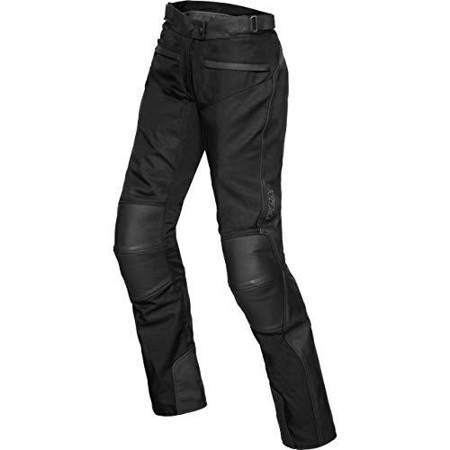 FLM Motorradhose Touren Damen Leder-/ Textilhose 3.0 schwarz 40, Tourer, Ganzjährig, Leder/Textil