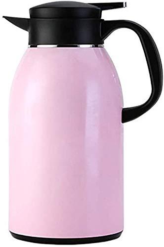 Cafetera 304 acero inoxidable preservación del calor del hogar Bote de gran capacidad de agua caliente Cafetera doble capa de vacío preservación del calor Pot 1600ml 2200ml for el café bebida de té Et