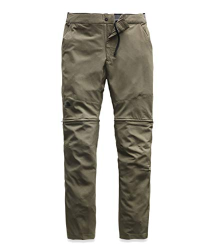 The North Face Men's Paramount Active Convertible Pant, New Taupe Green, 40-SHT