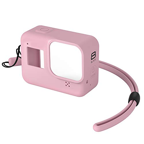 ANYIKE Étui de Protection en Caoutchouc de Silicone pour GoPro Hero 8 Sports Camera Sports Action caméras vidéo Accessoires