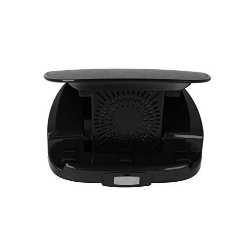Fesjoy teléfono Inteligente inalámbrico para Coche, Cargador inalámbrico de Carga inalámbrica para automóvil y Soporte para teléfono para automóvil El Cargador inalámbrico Qi se adhiere a Todos los