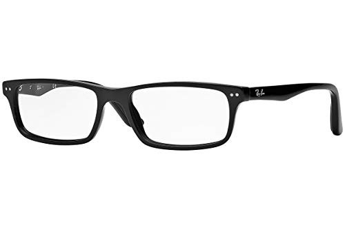 Ray-Ban RX5277 - 2000 Eyeglass Black Frame w/ Clear Demo Lens 54