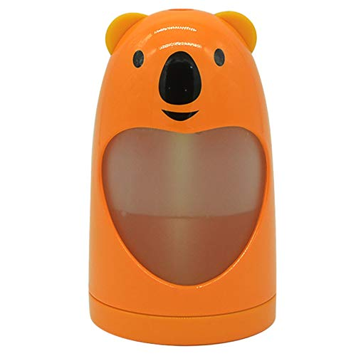 REFURBISHHOUSE Humidificador Fresco de Aire Naranja Carga USB 7 Cambio de Color LED Luz Nocturna Difusor de Aceite AromáTico para la Oficina en el Hogar del AutomóVil