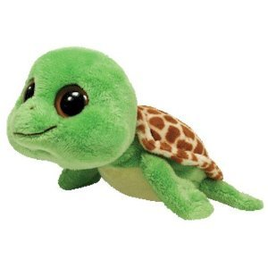 TY 36026 36026-Sandy-Schildkröte, Beanie Boos, 15 cm