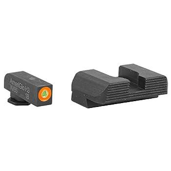 AmeriGlo GL-436 Hackathorn Sight Set for Glock 42/43 Green/Orange