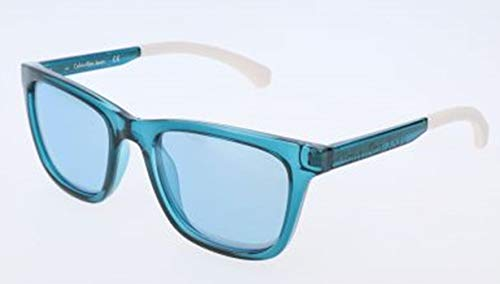 Calvin Klein 205W39nyc CKJ814S 407 52 Gafas de sol, Crystal Bluee, Unisex