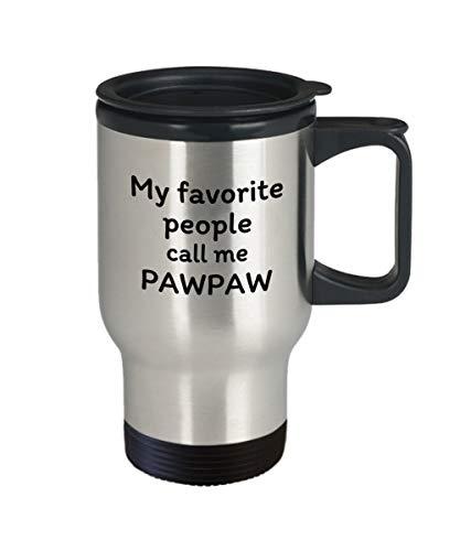 Zachrtroo Mijn lievelingsmensen noemen Mich Papaya-reisbeker