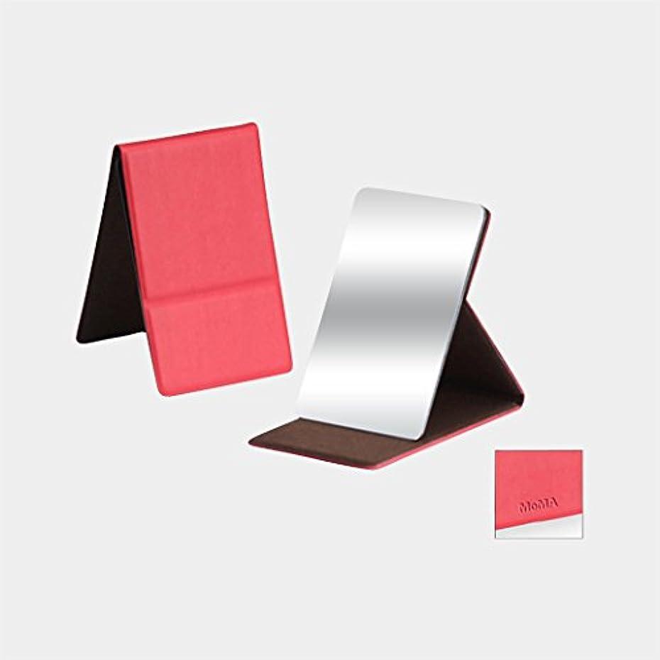 シンポジウム標高大邸宅MoMA ステンレス コンパクトミラー レッド