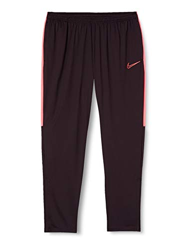 Nike Dri-Fit Academy Pantalons Homme, Bordeaux/Rose (Burgundy Ash/Racer Pink/Racer Pink), XS