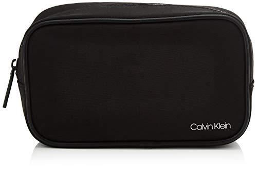 Calvin Klein United Travel Washbag, Organiseurs de sacs à main homme, Noir (Blackwhite Black), 1x1x1 cm (W x H L)