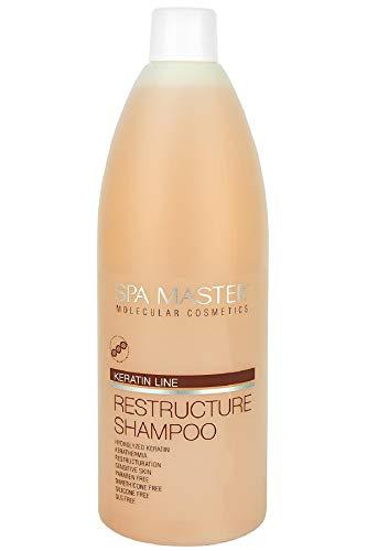 Spa Master Shampoo mit Keratin Umstrukturierung von Haar 970 ml