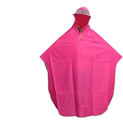 XYHDSM Rain Coats For Women Men's and Women's Cycling Raincoats Poncho Cloak Poncho Hooded Windproof Raincoat Mobility Scooter Cover Raincoat
