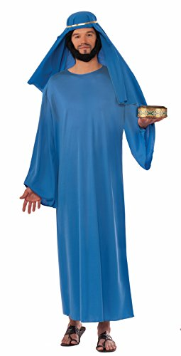 Forum Novelties Men's Forum Value Biblical Robe, Blue, Standard