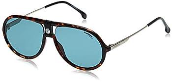 Carrera 1020/S Sunglasses CA1020S-0086-KU-6015 - Dark Havana Frame Blue Avio Lenses Lens