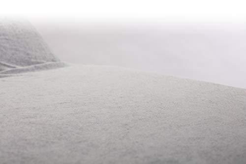 Spannbezug für Massageliegen, Behandlungsliegen, Therapie-u.Kosmetikliegen mit und ohne Gesichtsschlitz Öko-Text, Frottier Castejo (65x200 Dunkelgrau o. Schlitz)