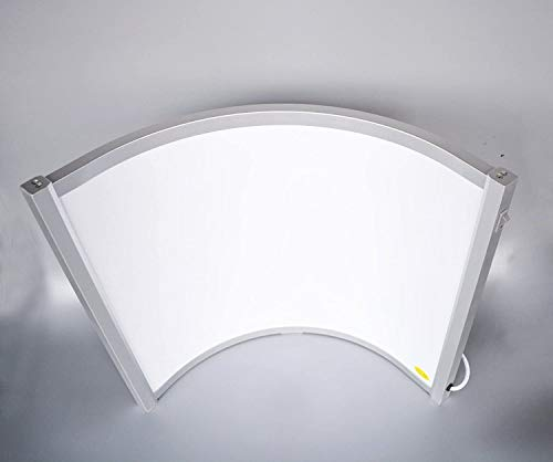 CURVED FREE STANDING 300W FAR INFRARED HEATING PANEL – PERFECT FOR DESKS OFFICE WINTER HEAT