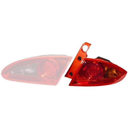 HELLA 9EL 982 000-051 Piloto posterior, izquierda, Tecnología de lámparas incandescentes