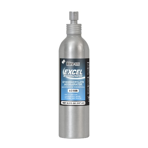 Vibra-TITE 621 Excel Accelerator, 8 oz Bottle, Clear