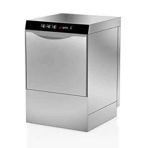 Geschirrspülmaschine Gastronomie 4,9 kW - Mit Laugenpumpe - Mit Reinigerpumpe