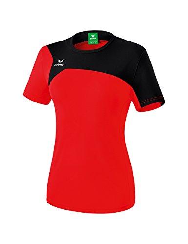 erima Damen T-shirt Club 1900 2.0 T-Shirt, rot/schwarz, 42, 1080701