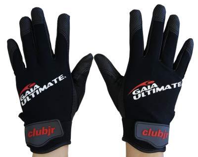 GAIA Ultimate und Disc Golf Handschuhe - schwarz/grau, Größe S