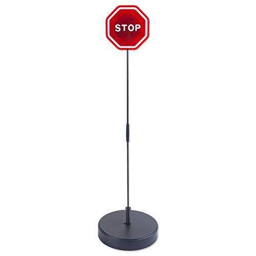 Andalus Brands Flashing LED Stop Sign Garage Parking Assistant System (1-Pack)
