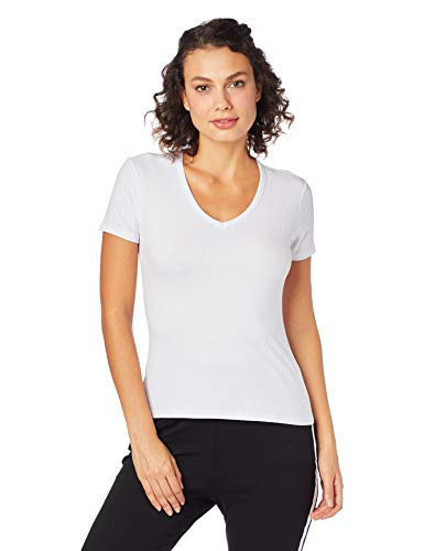 Camiseta Viscose canelada, Malwee, Femenino, Branco, P