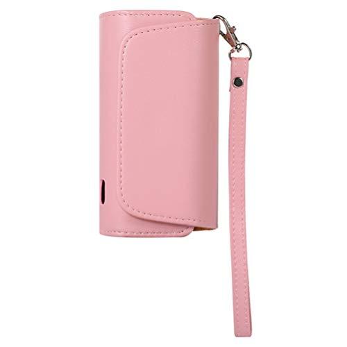 KESYOO Leather Cigarette Case Portable Cigarette Pouch...