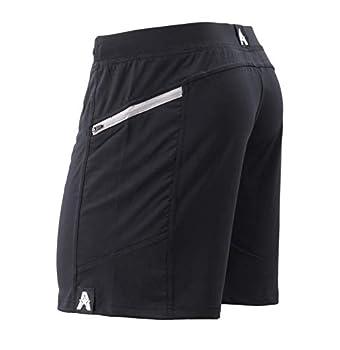 Anthem Athletics Hyperflex 7  Workout Training Gym Shorts - Black Onyx G2 - Large