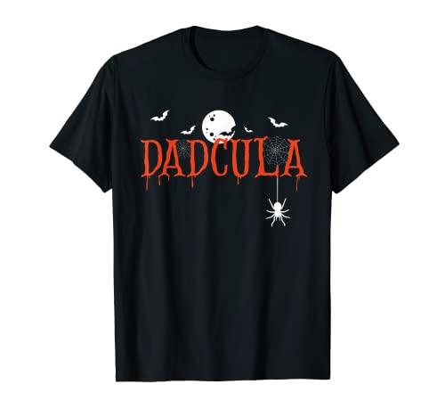 Hombre Dadcula Halloween Pap Drcula Monster Creepy Horror Costume Camiseta