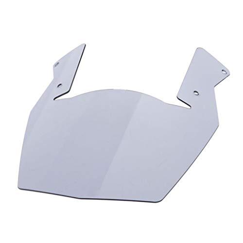 perfk Cupula Parabrisas/Clip Ajustable Protector de Extensión de Parabrisas Universal para Motocicleta
