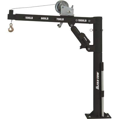 Ultra-Tow Pickup Truck Crane with Hand Winch - 1000-Lb. Capacity