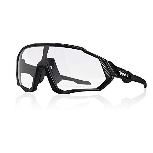 SHANGCHENG Gafas De Sol Fotocromáticas Transparentes Protección UV para Bicicleta Ciclismo Conducir Running Deportes Al Aire Libre para Hombre Y Mujer (Color : PGYV2)