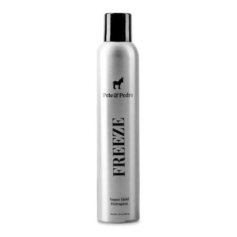 Pete and Pedro FREEZE - Super Strong Spray Instantly Locks Hair in Place