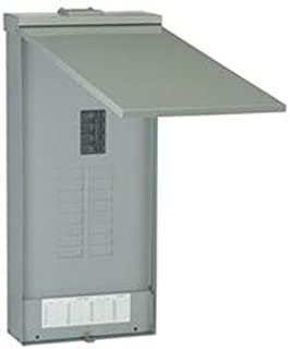 GE Energy Industrial Solutions TM1615RCU Powermark Gold Main Breaker Outdoor Load Center, 150-Amp