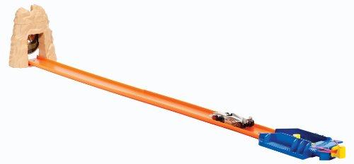 Hot Wheels - X9275 - Véhicule Miniature - Circuit - Piste Adrénaline - La grotte de cobra