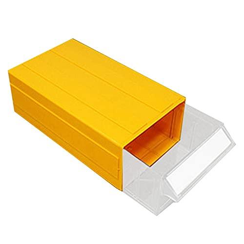 RWEAONT Estante de Almacenamiento de cajón de Almacenamiento de cajón de Almacenamiento de cajón de Almacenamiento de cajones de Almacenamiento de cajón de Almacenamiento (Color : Yellow F4)