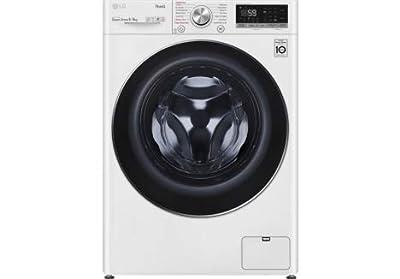 LG TurboWash™ with Steam™ V7 FWV796WTSE 9/6kg Washer Dryer
