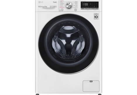 LG TurboWash™ with Steam™ V7 FWV796WTSE 9/6kg Washer D