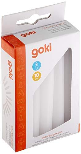 Goki 15051 - Dekoration - Geburtstagskerzen-Set für GK 106/108/55985/60975