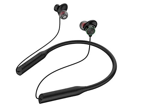 Cuffie Bluetooth, Sportive,Auricolari Senza Fili Impermeabili,Cuffie Wireless Neckband con Cancellazione Attiva del Rumore,Auricolari Musica per iPhone,Huawei,Samsung ecc