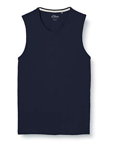 s.Oliver Herren 130.10.004.12.130.2025047 T-Shirt, 5882 Blue, 3XL