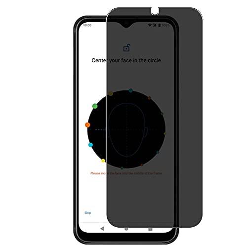 Vaxson Protector de Pantalla de Privacidad, compatible con HTC Wildfire E3 [no vidrio templado] TPU Película Protectora Anti Espía